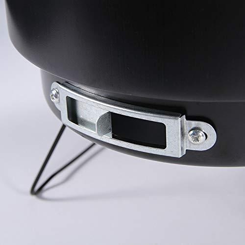 41A6D5RGjcL - Tragbarer Holzkohlegrill Für Den Haushalt Im Freien Tragbarer Mini-Grillgrill Ultraleicht Einfacher Grill-Holzkohleofen Geeignet Für 1-2 Personen