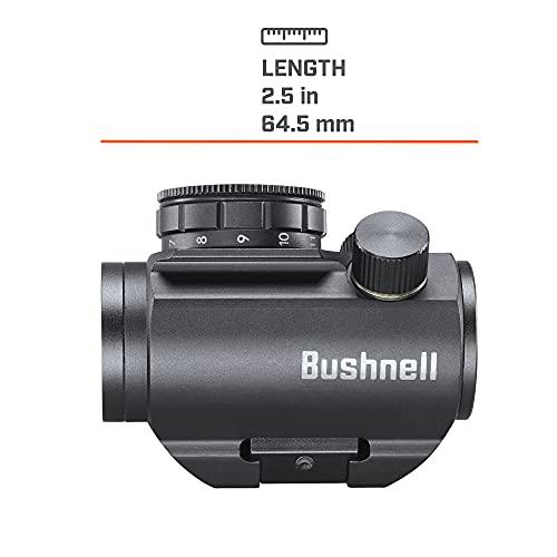 Bushnell Trophy TRS-25 Red Dot Sight Riflescope, 1x20mm, Black