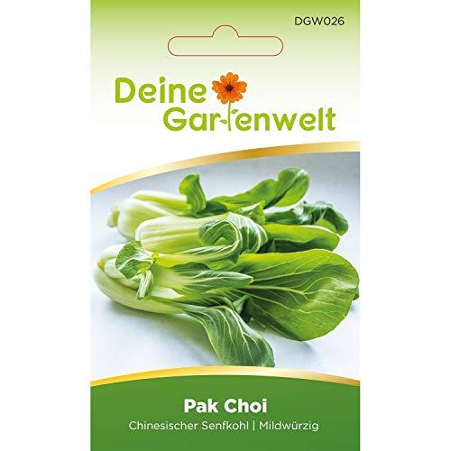 Pak Choi Samen | Chinesischer Senfkohl Kohlsamen | Senfkohlsamen | Saatgut für Chinakohl