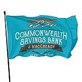Hdadwy Commonwealth Savings Bank of Maccready - Camiseta de tirantes con espalda cruzada, diseño de bandera de patio