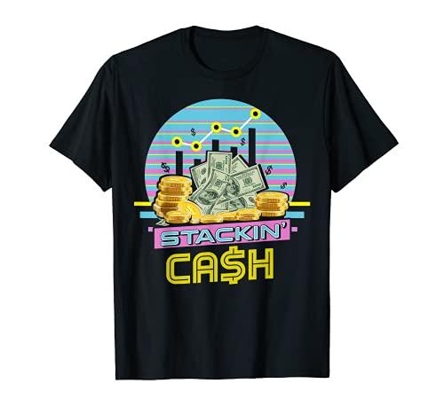 Inversor Regalo Efectivo Financiero Trader Hombres Mujeres - Stock Broker Camiseta