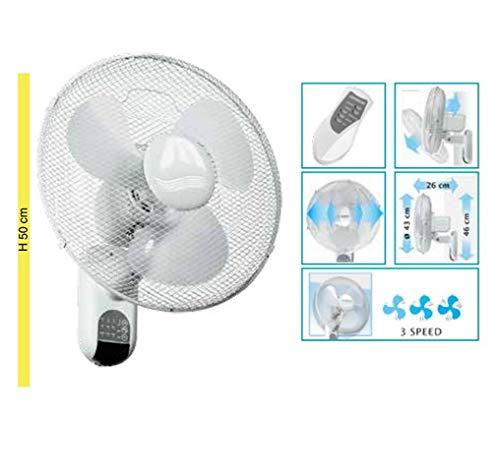 Johnson Elettrodomestici JON190 Ventilatore da Parete, 55 W