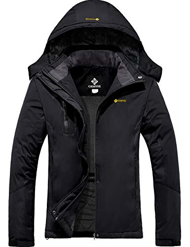 GEMYSE Chaqueta esquí Impermeable Mujer Chaqueta