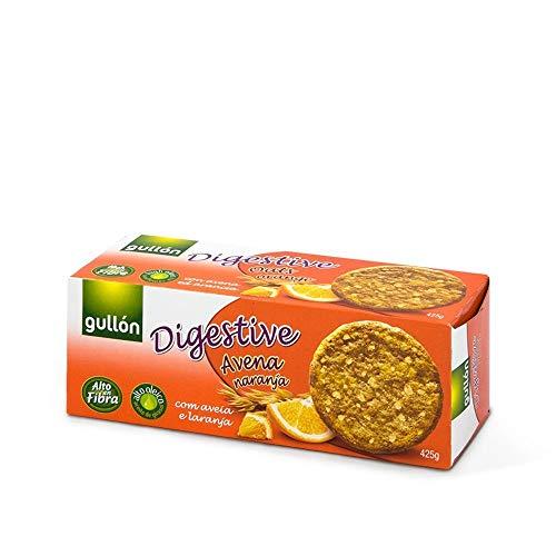 Gullón Galleta Avena Naranja Digestive, 425g