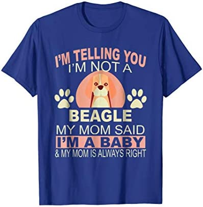 Funny Beagle Baby Pet Dog Animal Lover Mom Owner T Shirt product image