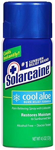 Solarcaine Aloe Extra Burn Relief Spray 4.5 oz