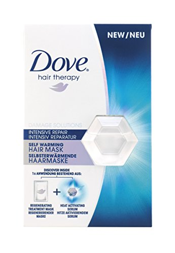 Dove Intensive Repair, Nourishing And Mositurising Self Warming Hair Mask,...