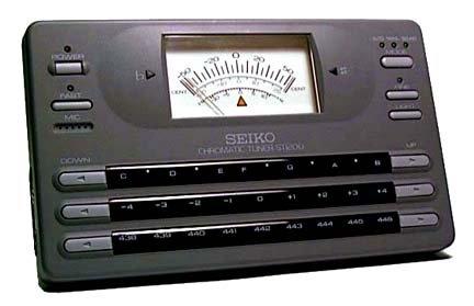Seiko ST1200 Chromatic Tuner ~ Pro Model