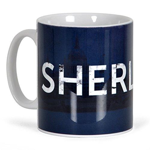 Sherlock Kaffee Becher