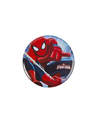 Hogar y Mas Plato Infantil Spiderman en Melamina