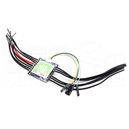 Price comparison product image RacerStar 4-in-1 20A Brushless ESC 2-4S for Quadcopter Racing Drone