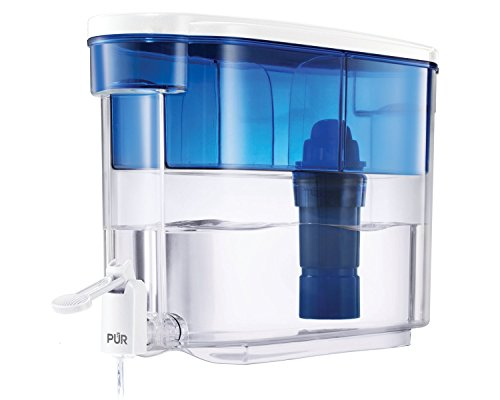 PUR 18 Cup Dispenser, Includes 1 Filter, Filter Helps Reduce Chlorine Taste and Odor