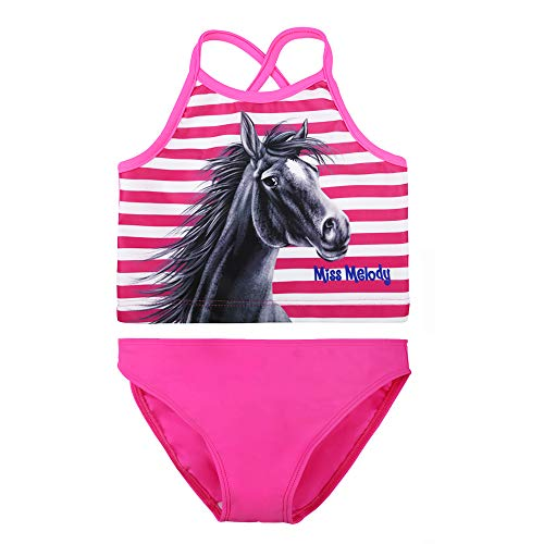 Miss Melody Meisjes Tankini, Zwemkleding, Roze