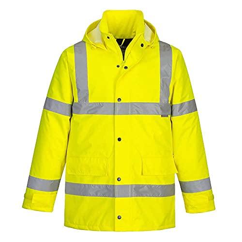 Portwest Hi-Vis Traffic Jacket, Colour: Yellow, Size: M, S460YERM