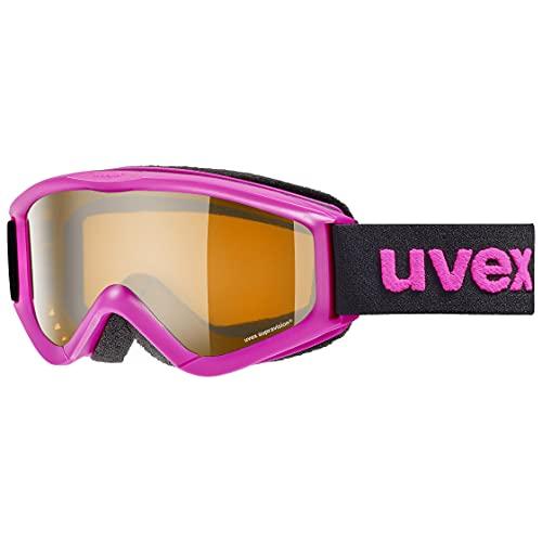uvex Unisex Jugend, speedy pro Skibrille, pink, one size