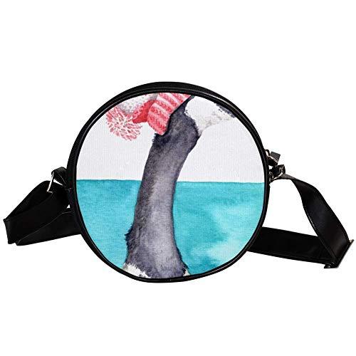 Bennigiry Canada Goose Damen Umhängetasche Rund Umhängetasche Top Handtasche