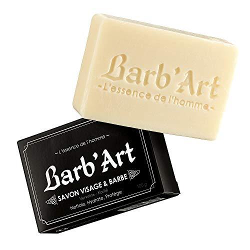 Barb'Art Savon Barbe/Visage Karité Verveine100 g