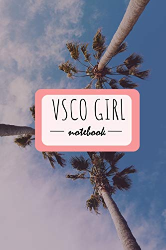 VSCO GIRL notebook: 120 great note taking pages for you: Grab a scrunchy and go for it!