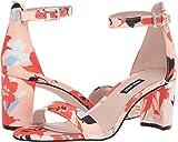 NINE WEST Pruce Block Heel Sandal Orange 10.5 M