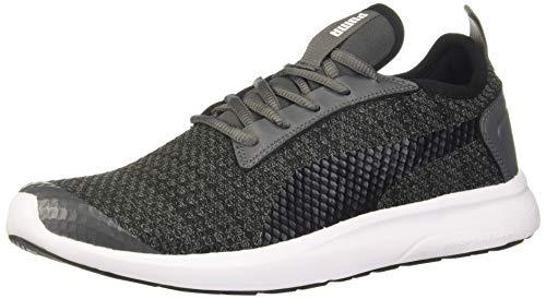 Puma Unisex Adult George Idp Dark Shadow Black W White Sneakers-8 UK...