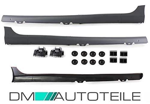 DM Autoteile SET Golf 5 V Seitenschweller Set Limousine 5-Türer ABS+MONTAGEKIT für GTI+ABE
