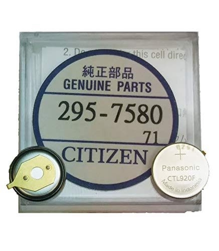 295-7580 Genuine Original Citizen Watch Energy Cell - Battery - Capacitor for Eco-Drive Watch (Same as 295-758)