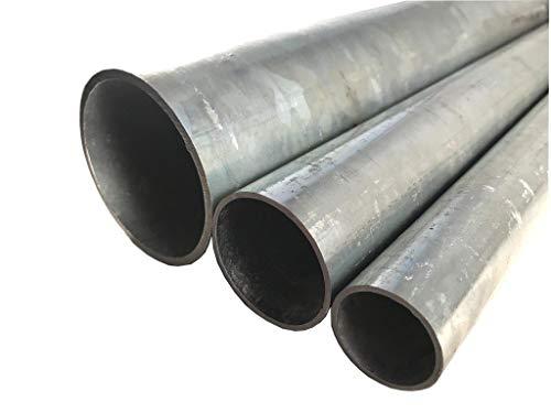 Tubo de acero galvanizado, de 6 a 76,1 mm de diámetro, hasta 2 metros de longitud, Ø 33,7 x 2mm (2000mm), 1