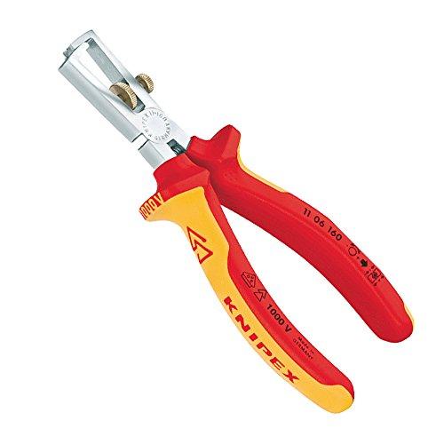 Knipex 11 06 160 SB Abisolierzange Länge: 225 mm