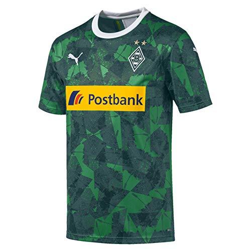 PUMA Herren BMG Third Shirt Replica with s Trikot, Amazon Green-Ponderosa Pine, XL