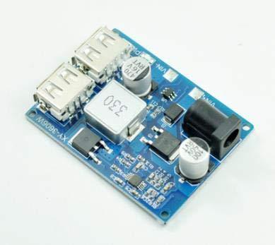 DCDC 12 v24 V a 5 V convertidor de voltaje USB vehículo módulo Dash cam paso abajo línea DIY