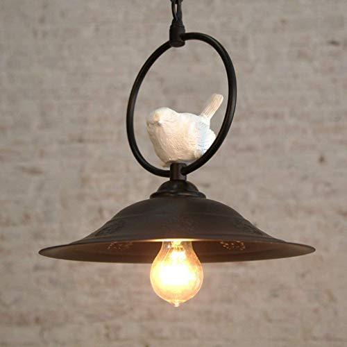 Plafondlamp Kroonluchter - Verstelbare hars vogel E27 licht enkele hoofd bron verf schaduw plafond hanglampen voor het diner-kamer, badkamer Kroonluchter