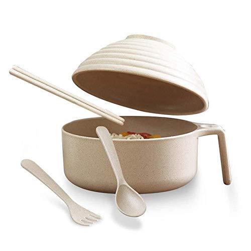 Home Big Wrist Bowl Rice Bowl Lunch Niet-roestvrij Staal Eetzaal Lepel Licht Mannelijke Slaapzaal Servies Set Individuele Student Japanse Stijl Decoratieve Hotel Retro Soep Bowl