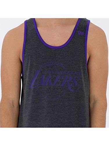 New Era NBA Team App Pop Logo Loslak ärmelloses T-Shirt, Unisex Erwachsene, Grau (hgp), XSS