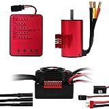 3660 2600KV Sensorless Brushless Motor Sensorless with 60A ESC Electronic Speed Controller and...