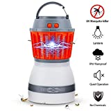 Bug Zapper Lamp-Mosquito Zapper Lamp-2-In-1 Zapper Lantern Charge Via USB-Lightweight Camping Gear &...