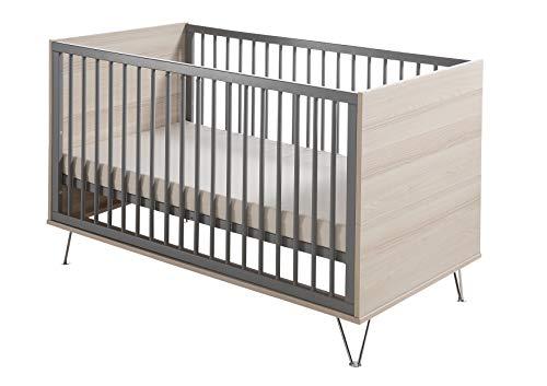 Geuther - Kinderbett Marit umbaubar zum Jugendbett höhenverstellbar mit Metallfüßen made in Germany