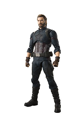 S. H. Figuarts Avengers Captain America (Avengers / Infinity War) Approximately 155 mm PVC ABS Painted Movable Figure