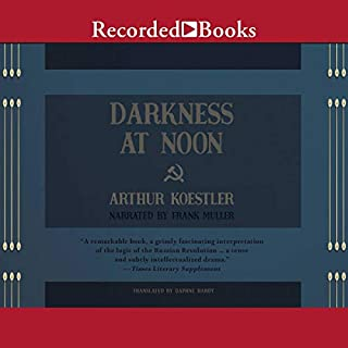 Darkness at Noon audiobook cover art