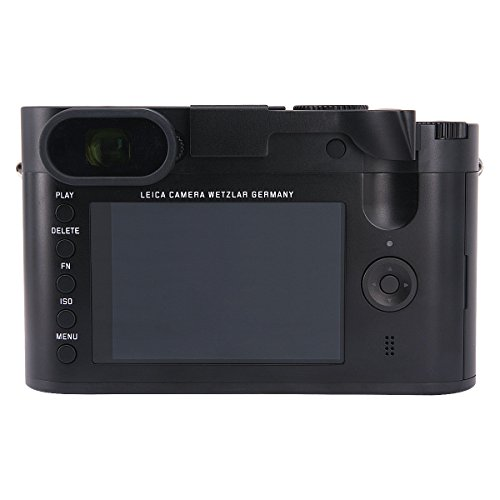 Haoge THB-LB Metal Hot Shoe Thumb Up Rest Thumbs Up Hand Grip for Leica Q Q-P QP Typ116 Typ 116 Camera Black