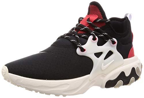 Nike React Presto, Zapatillas de Atletismo para Hombre, Multicolor (Black/Phantom/University Red 2), 44.5 EU