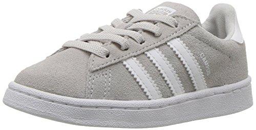 adidas Originals Boys' Campus El Sneaker, Grey ONE/White/White, 8 Medium US Toddler