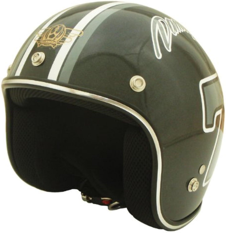 Damutorakkusu (DAMMTRAX) bike helmet jet Poposebun BK Kids size (less than 54cm  57cm)