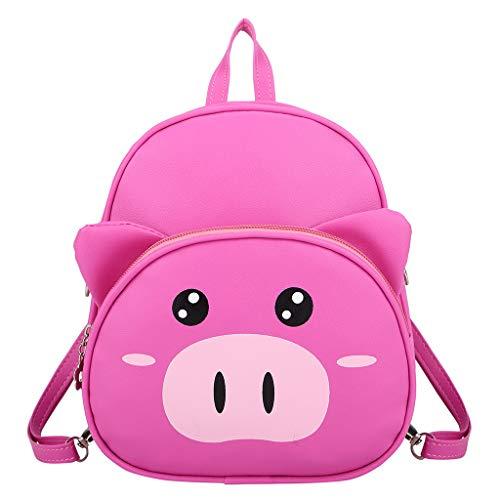 AIni Rucksack Karikatur Nettes Schwein Kindergarten Kinder Tasche Mode Rucksack Flut Junge Rucksack Schulrucksack Business Wandern Reisen Camping Tagesrucksack