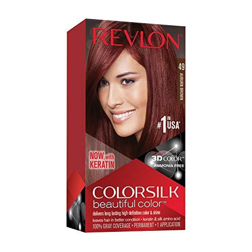 Revlon Colorsilk Beautiful Color Auburn Brown 49 1 Application (Chemische Haarfärbungen)