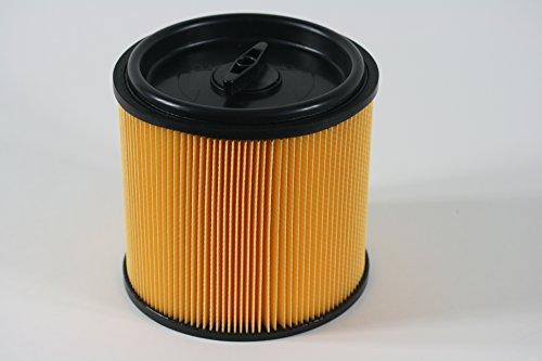 Parkside Faltenfilter Filter NTS PNTS 1500 A1 IAN 49325 + IAN 63677 inkl Deckel mit Stahlinnengitter Filterpatrone Trockenfilter