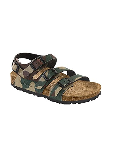 Sandalo con pianta Anatomica Militare Verde, 26 MainApps