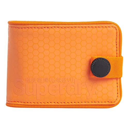 Superdry Tarp One Popper - Monedero para bebé, color naranja