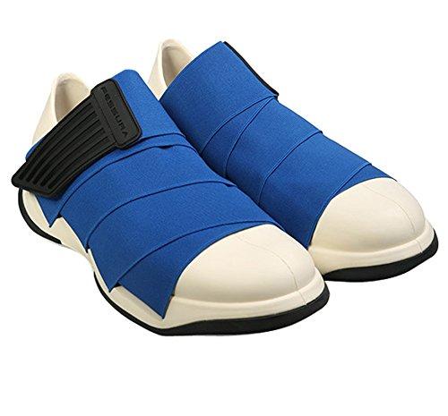 Fessura] Mens Mummy Shoes White Outsole Blue Upper Color (EU39)