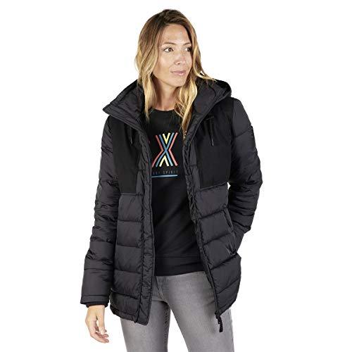 OxbOw M2jacinda - Chaqueta de plumón para Mujer, N'est Pas Applicable, Mujer, Color Negro, tamaño 2