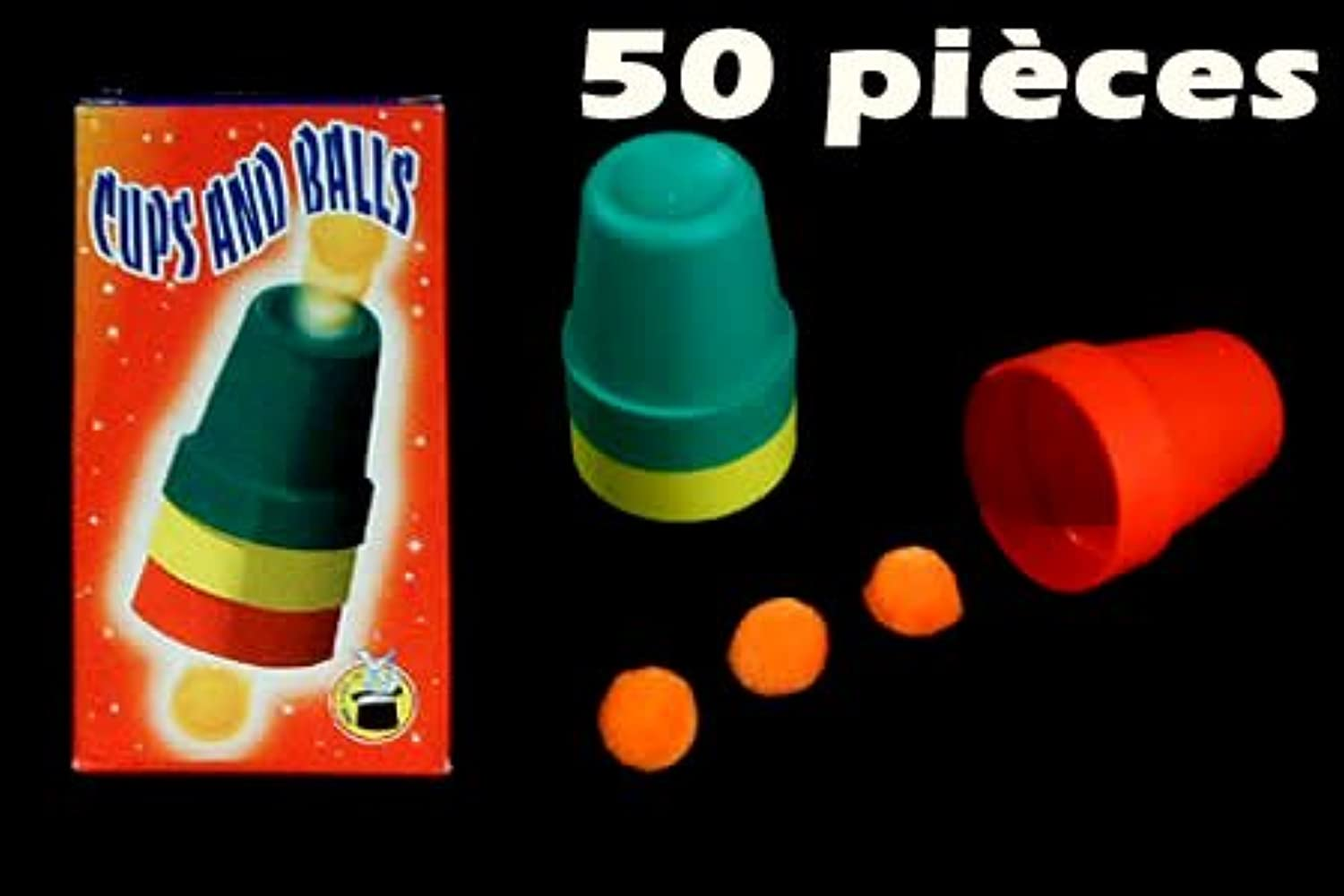 Cups and Balls (50 Sets)